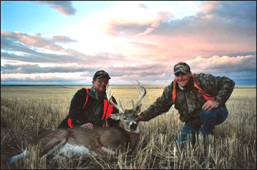Central Montana Whitetail Deer Hunting